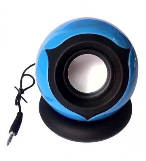 Hiper Song HS656 Rechargeable Portable Speaker For Laptop, Tablet And Mobile, Blue